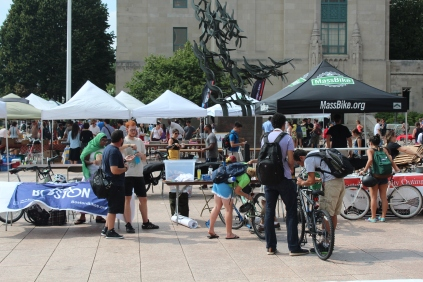 The sixth annual Sustainability Festival was hosted on Sept. 12, 2013. Over 40 services were available at the fair including bike shops and local produce.
